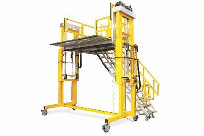 Platform Series Triumph Cantilever Platforms Height Access