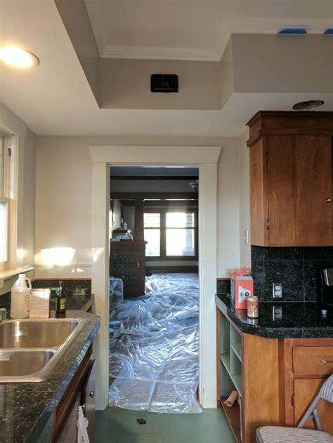small  kitchen design  craftsman home
