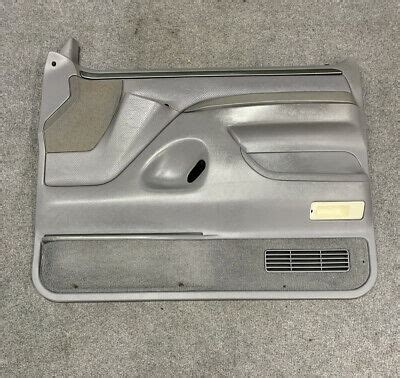 They are designed to closely resemble the original factory door panels and includes weather stripping and a cloth insert. 92-96 Ford Bronco F-150 97 F-250 F350 Passenger Side Door ...