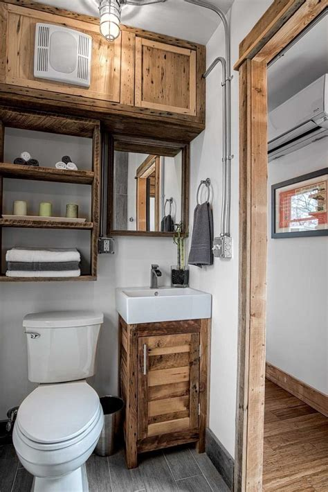 Home Design For Small Homes by 37 Tiny House Bathroom Designs That Will Inspire You