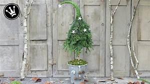 Wanddeko Für Draußen : diy weihnachtsdeko selber machen tannenbaum mit zipfelm tze aus naturmaterial i howto ~ Eleganceandgraceweddings.com Haus und Dekorationen