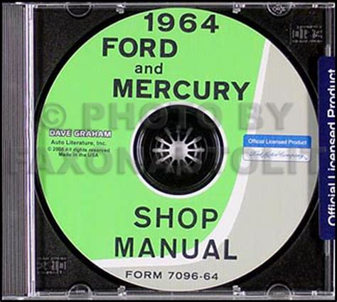 car repair manuals online pdf 1964 ford galaxie security system 1964 ford galaxie and mercury repair shop manual reprint