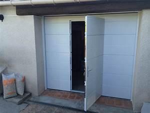 photos de pose de portes de garage basculantes avec With porte de garage tryba