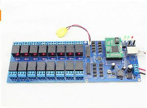 Wifi Ethernet Relay Module Switch Board Home