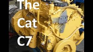 The Cat C7 Engine  Facts  Walk Around  Sensor Locations