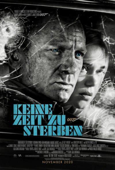 Die neuen deutschen Poster zu KEINE ZEIT ZU STERBEN ...