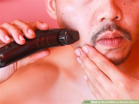 shave electric shaver pictures wikihow