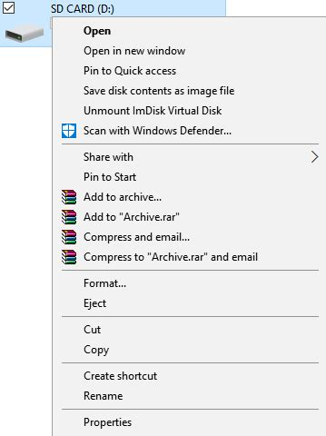 First open the command prompt window, then type the following commands in turn and press enter after each one. What to Do When Android Is Unable to Format an SD Card - Make Tech Easier