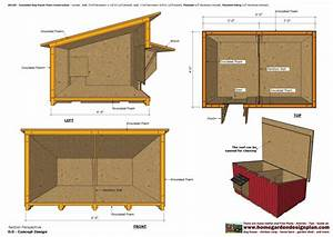 insulated dog house plans inspirational home garden plans With how to insulate a dog house