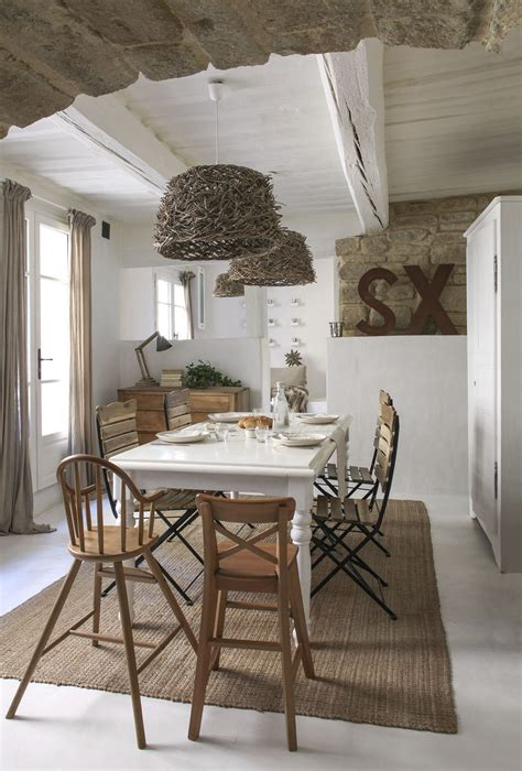 le style rice dans maison une maison au style épuré dans le gard maison créative