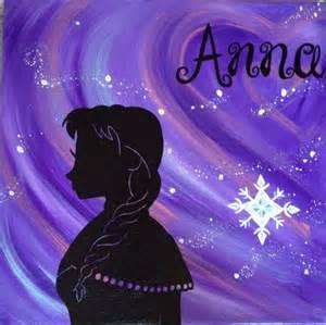 Frozen Elsa and Anna Clip Art Silhouette
