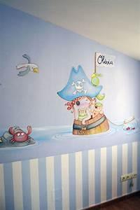 Kleinkind Zimmer Junge : mural ni os piratas wandmalerei pinterest basteln organisation kinderzimmer junge und ~ Indierocktalk.com Haus und Dekorationen