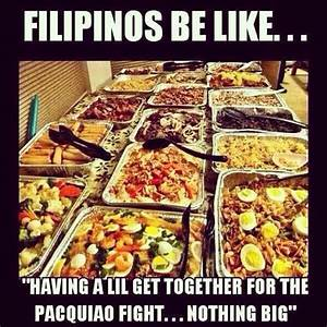 """Just another """"casual"""" family get together, Filipino style ..."""