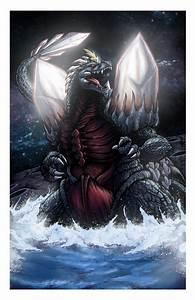 Space Godzilla by mikegoesgeek on DeviantArt