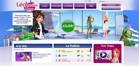 jeux de cuisine gratuit en ligne pour fille léa un mmo que pour les filles