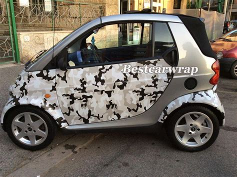black white grey arctic camouflage vinyl wrap snow camo wrap for car wrapping with air