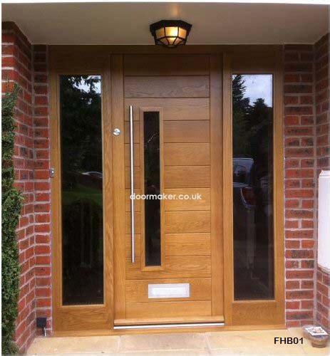 modern front doors contemporary front doors oak iroko and other woods