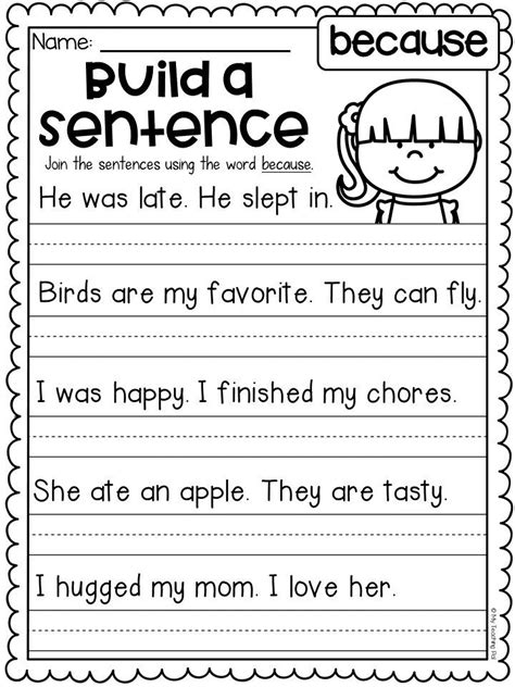 grammar worksheet packet sentences punctuation