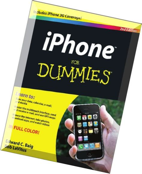 iphone for dummies 2nd edition pdf magazine