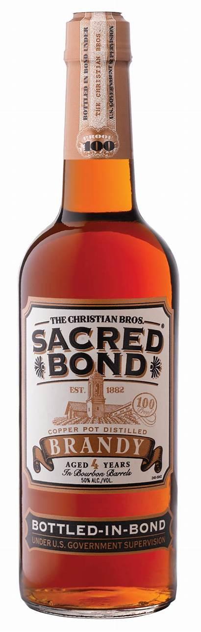 Brothers Bond Christian Brandy Sacred Bottle Bourbon