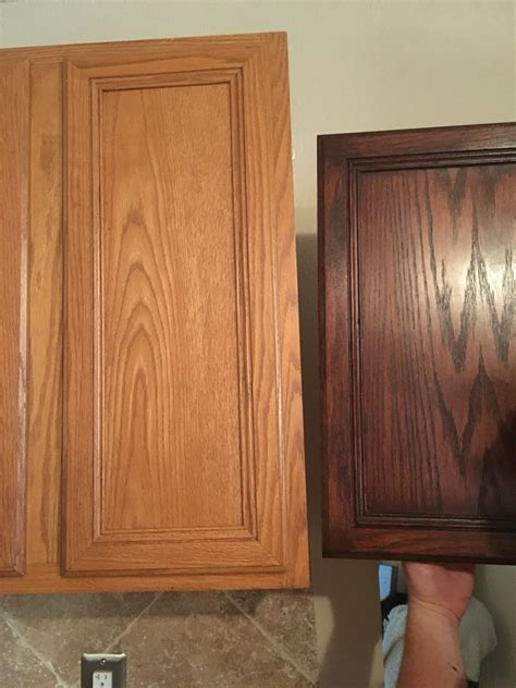 general finishes brown mahogany kitchen in 2019