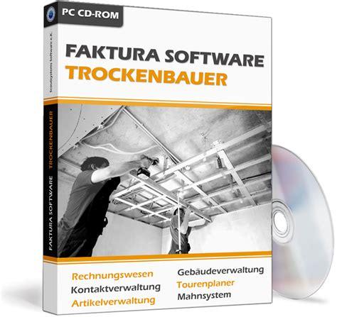 trockenbauer software handwerker faktura programm