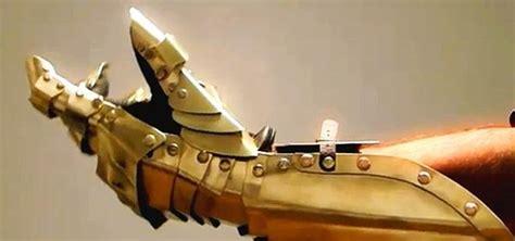 paper craft   papercraft armor gauntlet