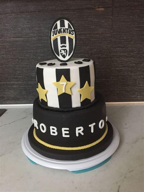 Juventus cake | Torte di compleanno calcio, Torta di ...