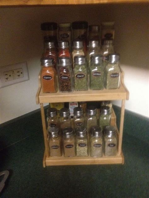 Cheap Spice Rack diy spice rack on the cheap for the home