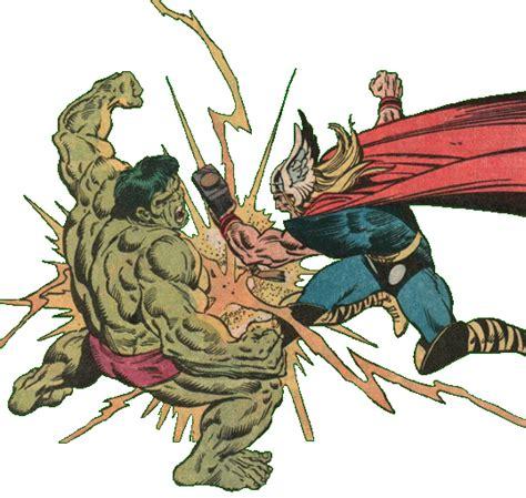 hulk vs thor mundo bignada