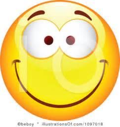 Happy Smiley Face Emotions Clip Art
