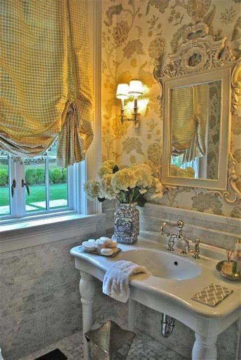vintage bathroom console sink victorian influenced