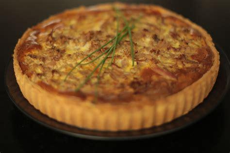 hervé cuisine hamburger tarte au thon poivron oignons et épices