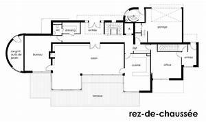 plan maison architecte design maison bc6144m2 architouch With plan de maison moderne 16 images gratuites architecture maison sol architecte