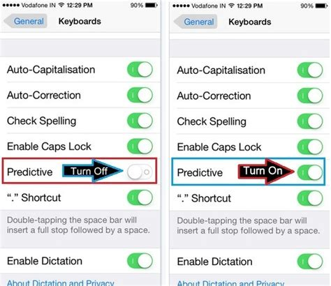 remove predictive text iphone how to turn on or turn predictive text on ios 9 ios
