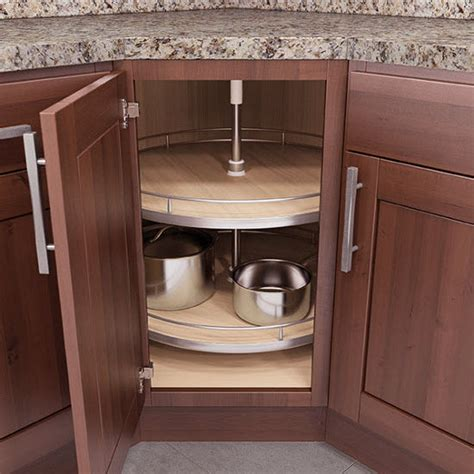 adding a lazy susan in a corner cabinet lazy susans lazy susan corner base wall cabinet set w