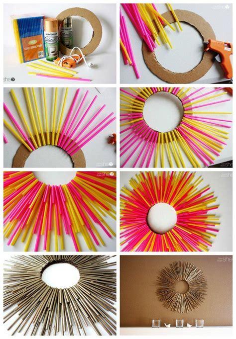 creative crafts      plastic straws lets
