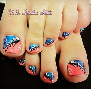 46 Cute Toe Nail Art Designs – Adorable Toenail Designs ...