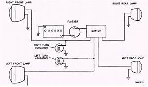 Car Lighting System Wiring Diagram