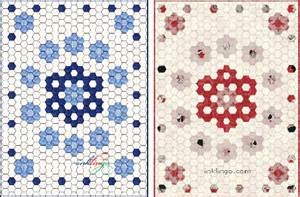 Hexagon Quilt Patterns Designs