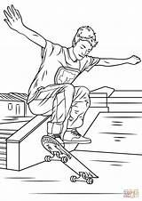 Skateboarding Colorare Entitlementtrap Pronta Jazda Deskorolce Drukuj sketch template