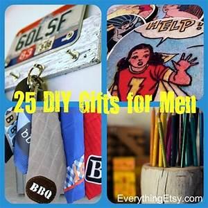 25 Handmade Gifts for Men DIY}
