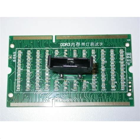 New Laptop Notebook Memory Ddr Test Card Udimm Pin