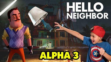 an ending hello neighbor alpha 3 ending