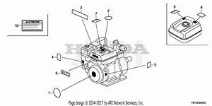Honda Wh20x Cr Water Pump  Jpn  Vin  Gx140