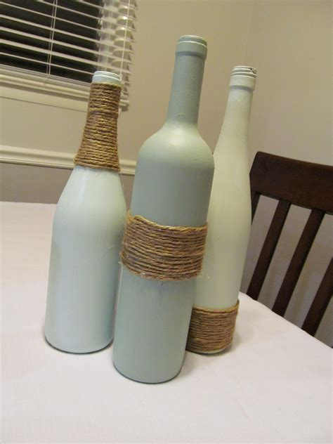 crafts with wine bottles wine bottle crafts a smith of all trades