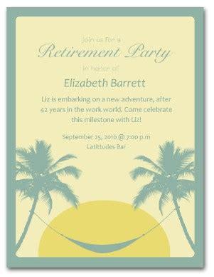 housewarming party invitations retirement invitation