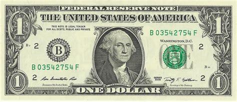 United States One-dollar Bill