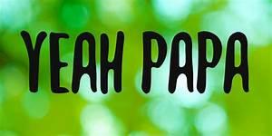 cursive free fonts yeah papa font befonts com
