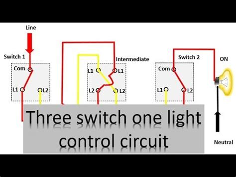switch  light control diagram   lighting